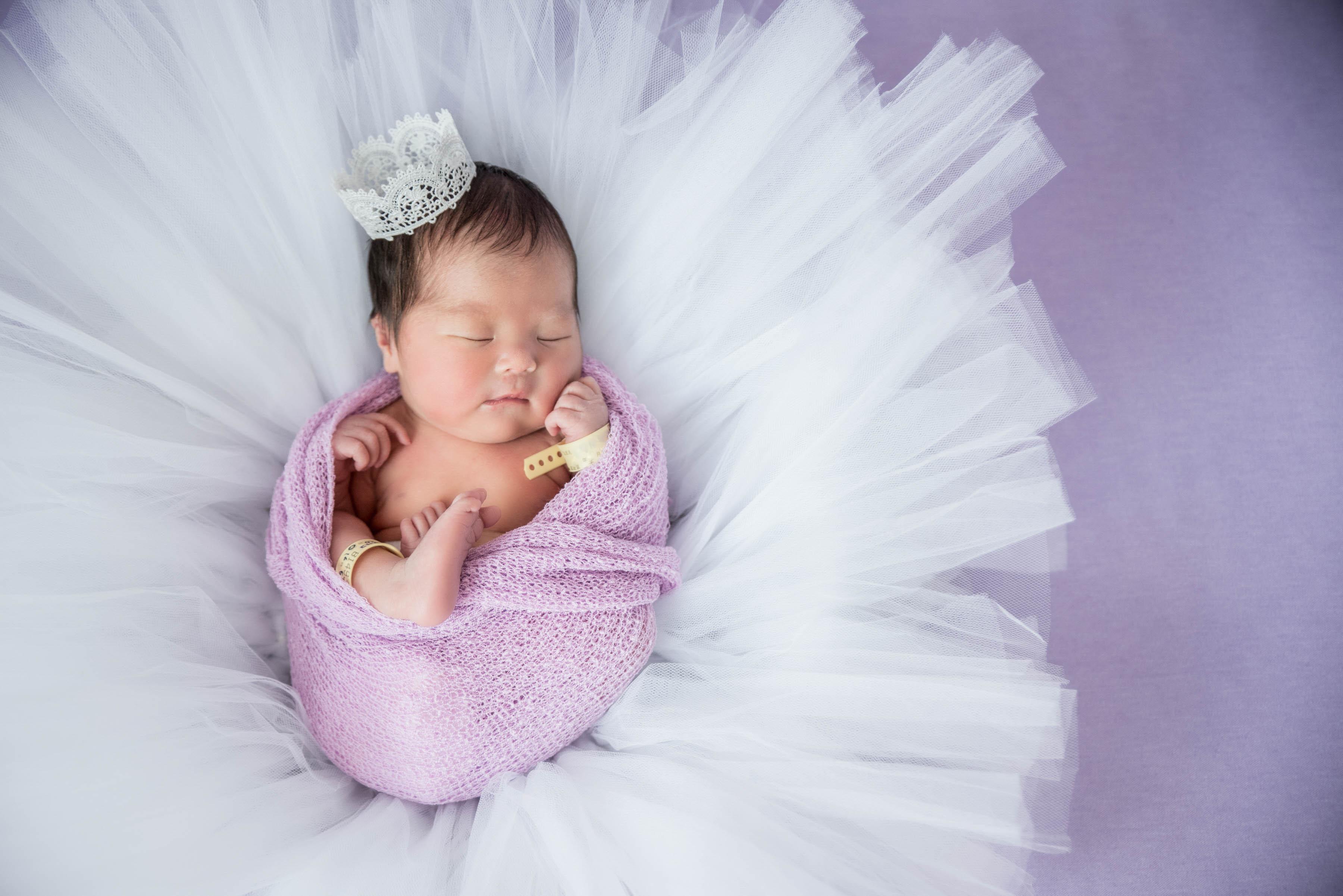 Sleeping baby photography~産科病院との提携撮影サービス